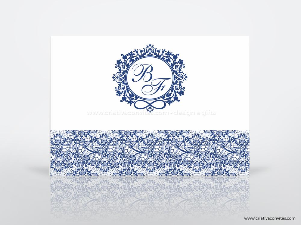 Convite de casamento clássico Paris