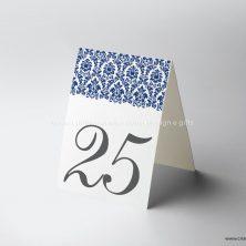 Marcador de mesa casamento monograma