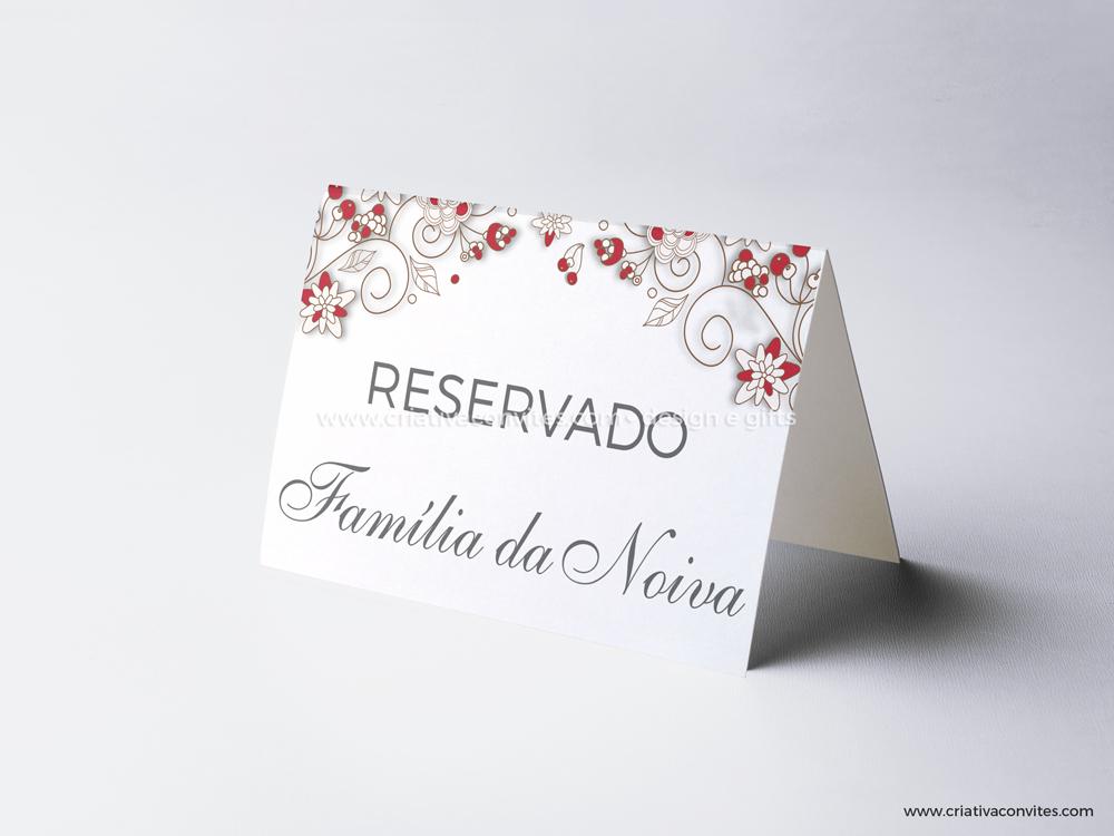 Reserva de mesa casamento encontro