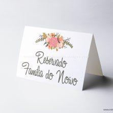 Reserva de mesa casamento romance