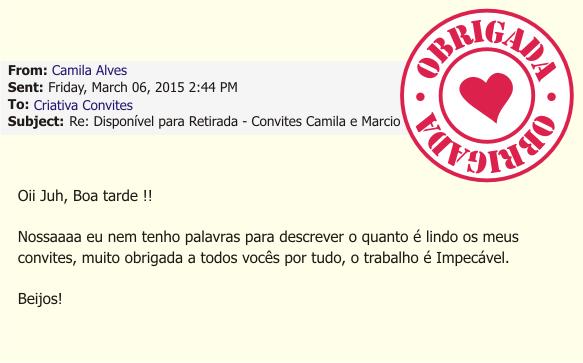 Depoimento Camila Alves