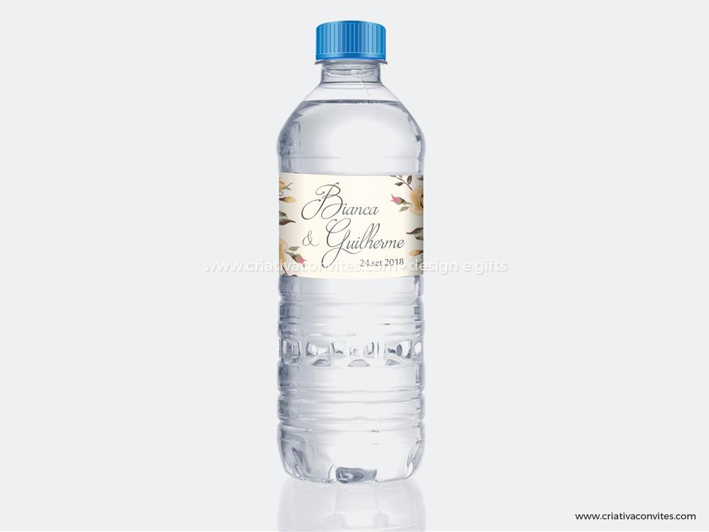 Rótulo adesivo para garrafa de água Grande Sonho