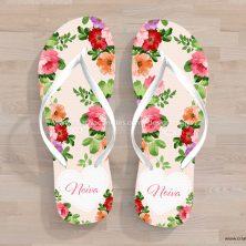 Chinelos personalizados festa lembrancinha casamento debutante Para Sempre
